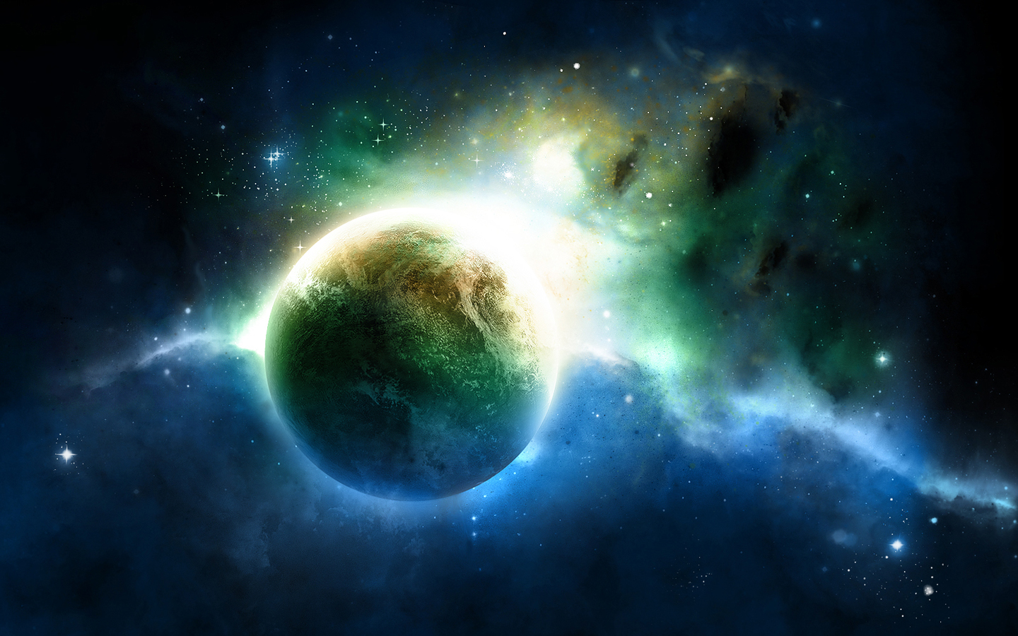 Space fantasy wallpaper set 4 awesome wallpapers for Space wallpaper for rooms