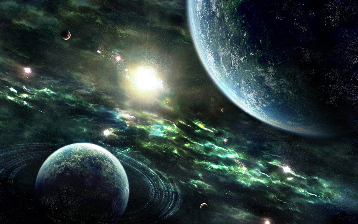 Space/Fantasy Wallpaper Set 4 « Awesome Wallpapers