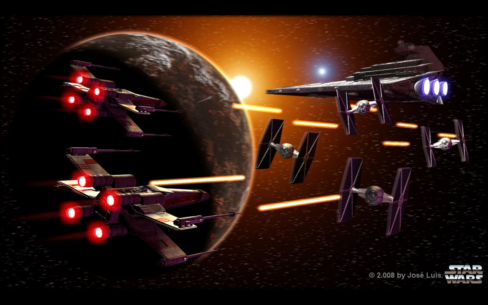 Star Wars Wallpaper Set 5 Awesome Wallpapers