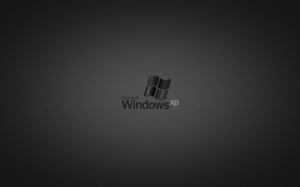 Windows XP Black 1440x900