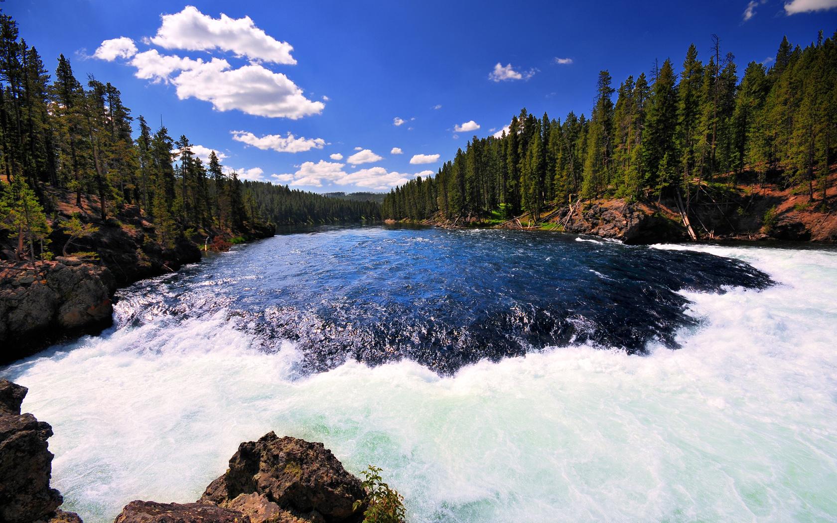 Yellowstone National Park Rivers