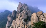 ??? ???? (Ulsan Rock in Sorak Mountains)