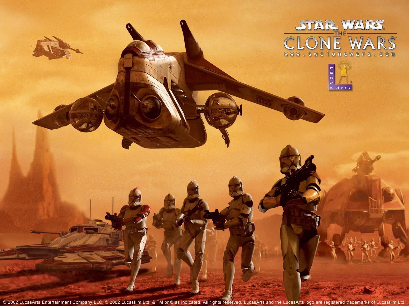 Star Wars The Clone Wars Wallpaper: Star Wars « Awesome Wallpapers