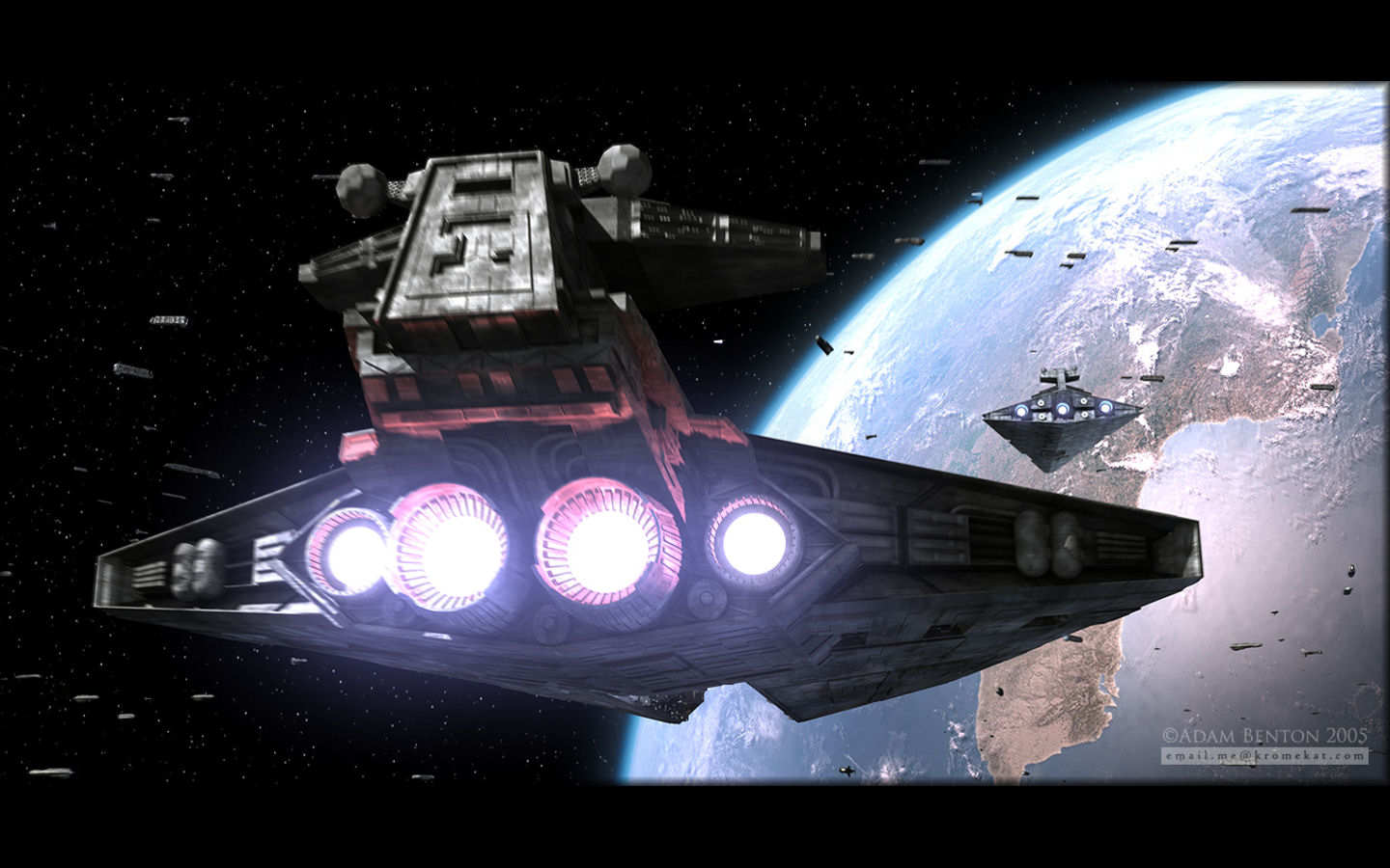Star Wars Wallpaper Set 7 Awesome Wallpapers