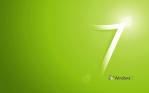 Windows 7 Green WLogo