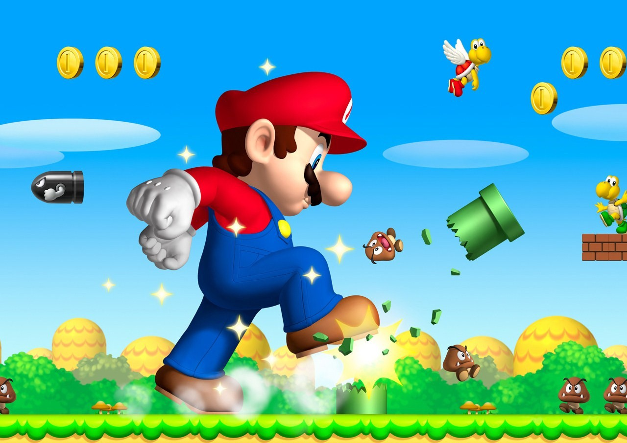 Super Mario Bros  Awesome Wallpapers-9102