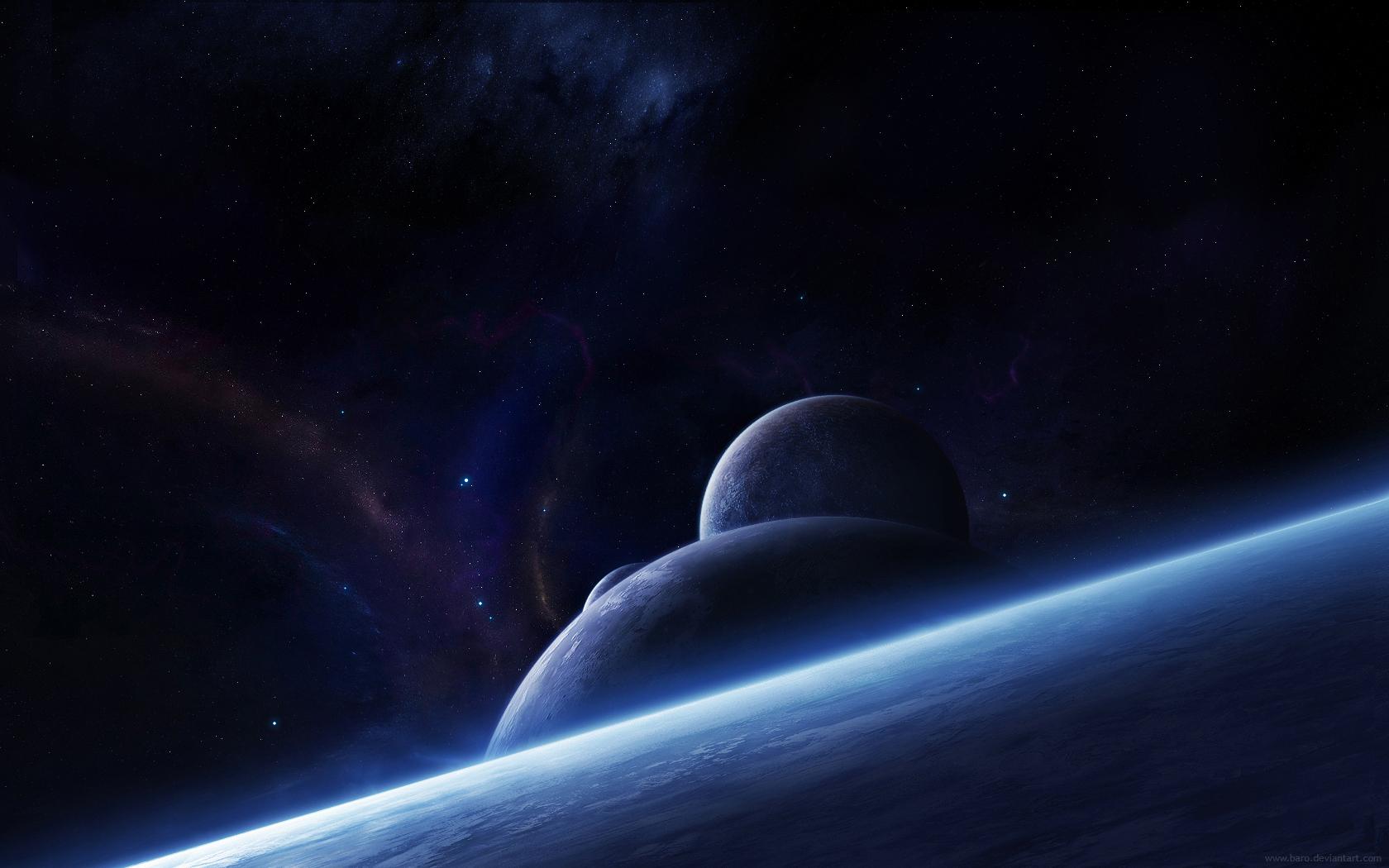 space fantasy wallpaper set 28
