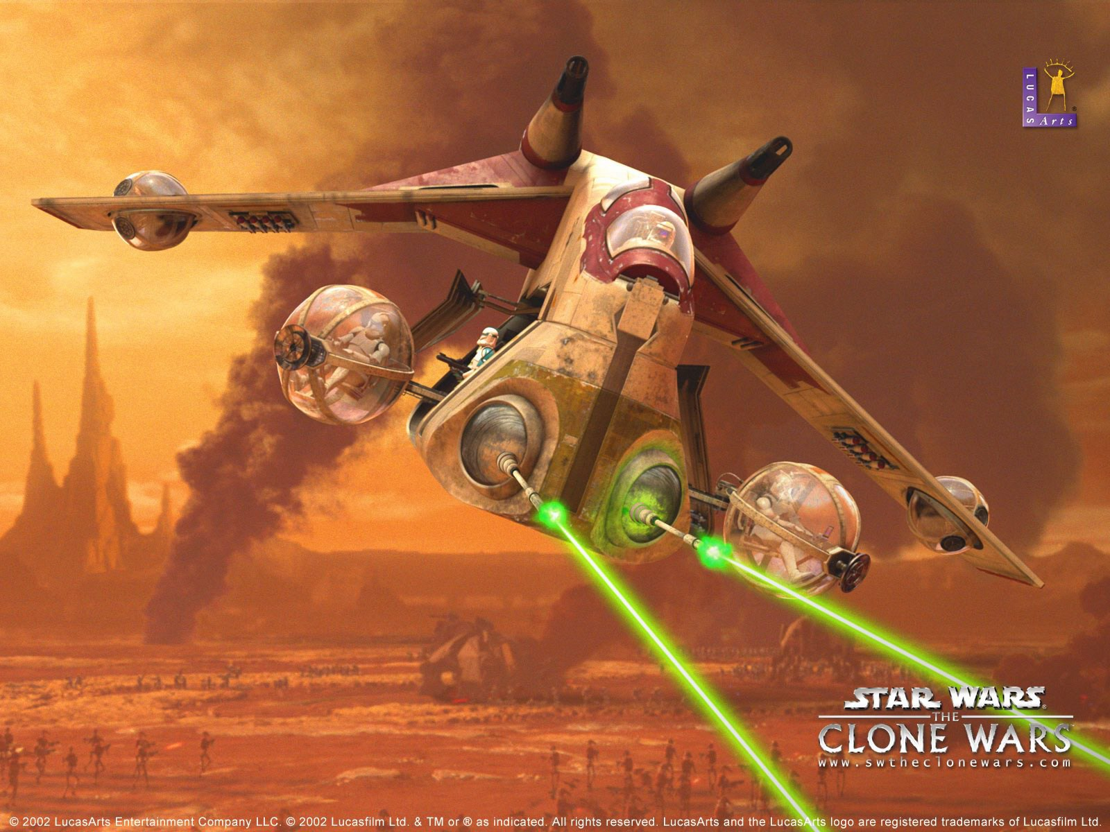 star wars the clone wars aircraft 1 1600 1200 awesome. Black Bedroom Furniture Sets. Home Design Ideas