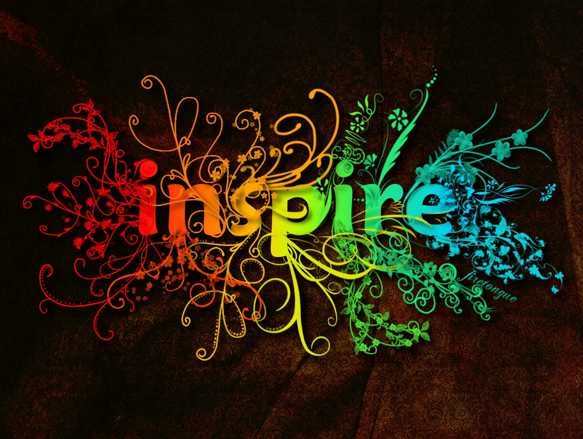 original inspire wallpaper