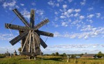 ???????? ???????? ? ???. ??????????, ???????? ??., ?????????? ??????? (Windmill in Volkostrov, Onega Lake, Karelia)