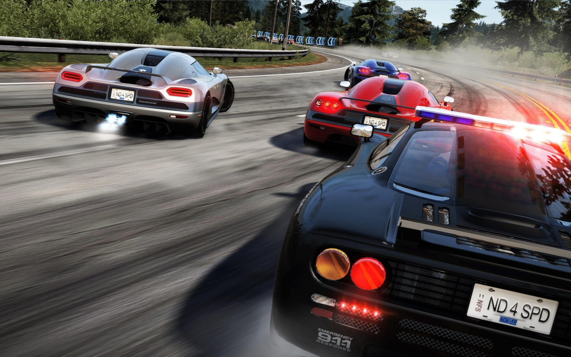 Online video game car race