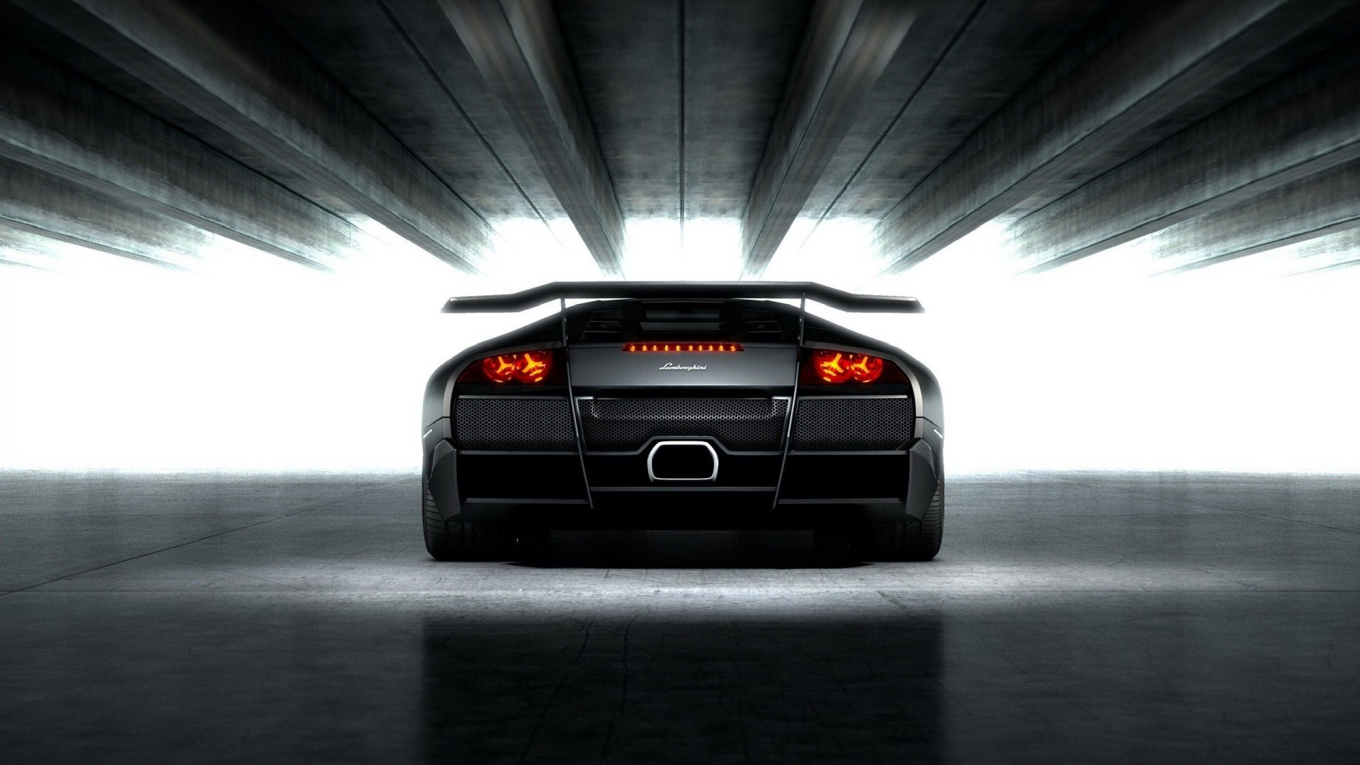 Lamborghini Murcielago Lp670 4 Sv Black Supercar Car