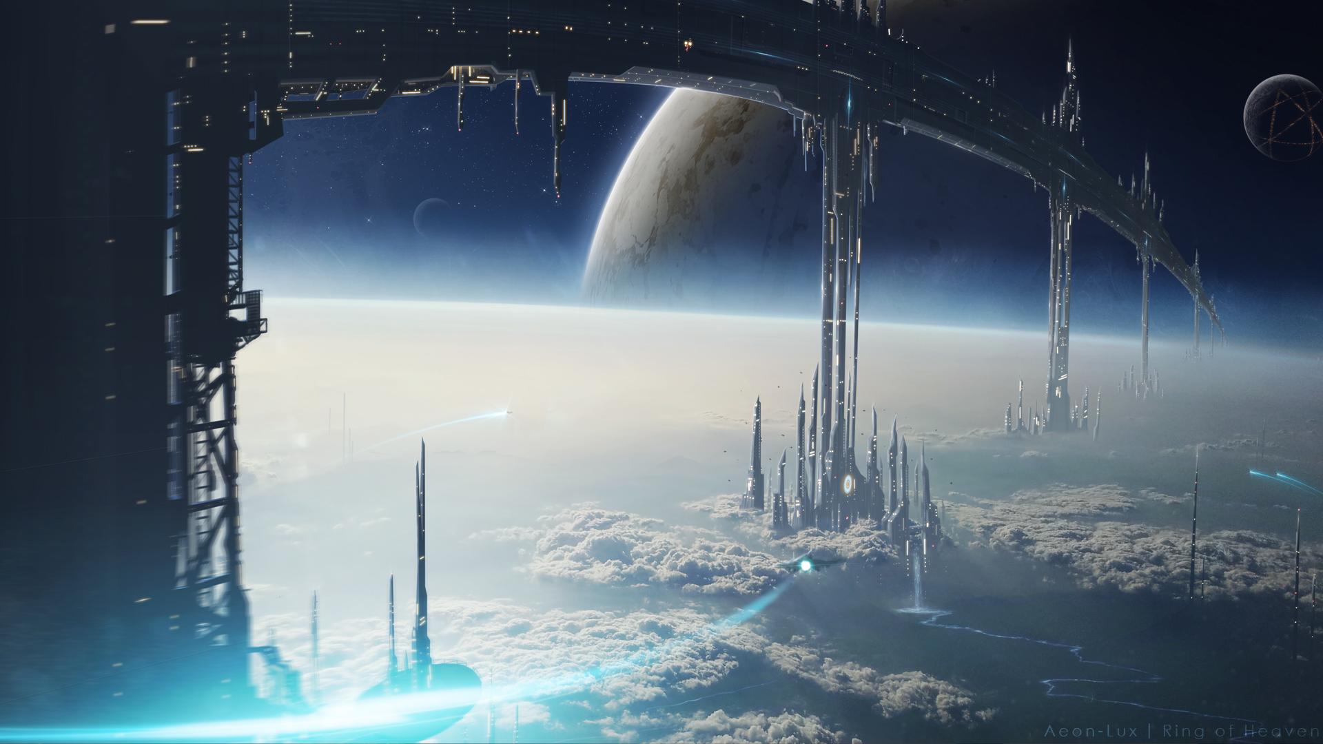 Image Space Fantasy HD Wallpaper jpg Orbitals