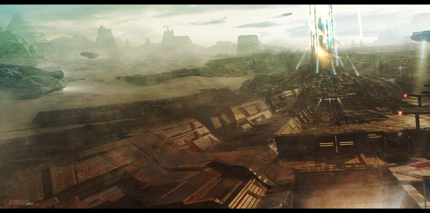 Space fantasy awesome wallpapers page 2 for Space matte painting