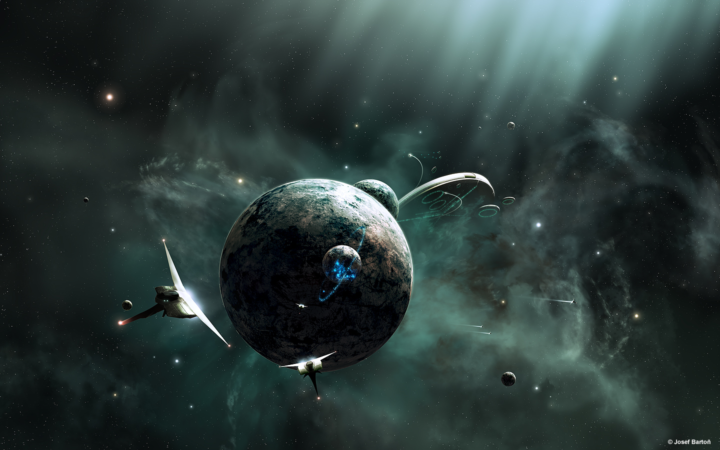 Space Fantasy Wallpaper Set 88 Awesome Wallpapers