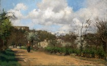 Full title: View from Louveciennes Artist: Camille Pissarro Date made: 1869-70 Source: http://www.nationalgalleryimages.co.uk/ Contact: picture.library@nationalgallery.co.uk Copyright (C) The National Gallery, London