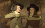 Full title: 'The Archers' Artist: Sir Henry Raeburn Date made: about 1789-90 Source: http://www.nationalgalleryimages.co.uk/ Contact: picture.library@nationalgallery.co.uk Copyright (C) The National Gallery, London
