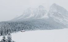 Winterinlakelouisealberta - 3840x2400 (16x10) (Large)