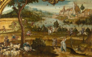 Full title: Summer Artist: Hans Wertinger Date made: about 1525 Source: http://www.nationalgalleryimages.co.uk/ Contact: picture.library@nationalgallery.co.uk Copyright (C) The National Gallery, London