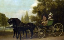 Full title: A Gentleman driving a Lady in a Phaeton Artist: George Stubbs Date made: 1787 Source: http://www.nationalgalleryimages.co.uk/ Contact: picture.library@nationalgallery.co.uk Copyright (C) The National Gallery, London