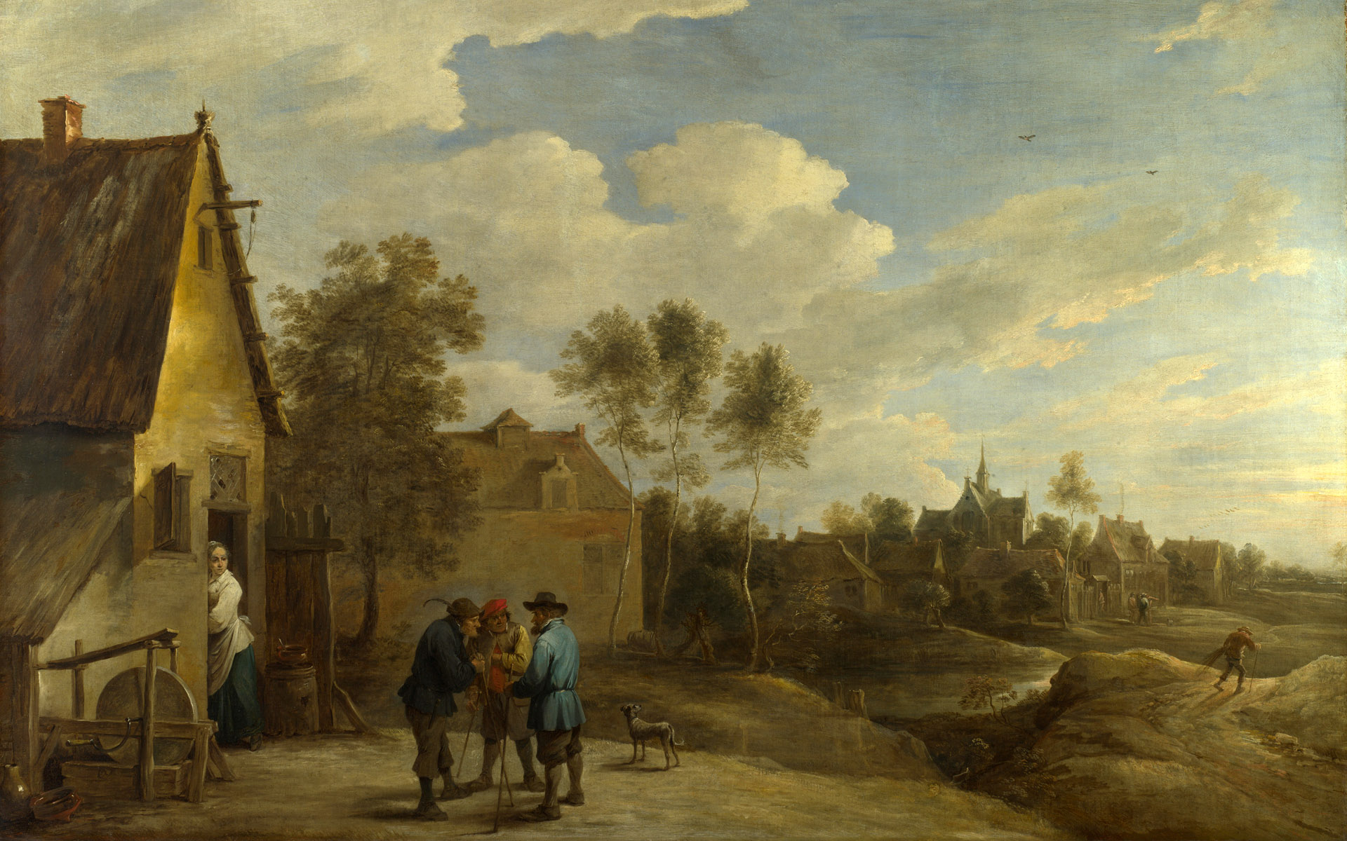 Full Title: A View Of A Village Artist: David Teniers The Younger Date Made