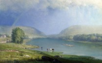 Full title: The Delaware Water Gap Artist: George Inness Date made: about 1857 Source: http://www.nationalgalleryimages.co.uk/ Contact: picture.library@nationalgallery.co.uk Copyright (C) The National Gallery, London