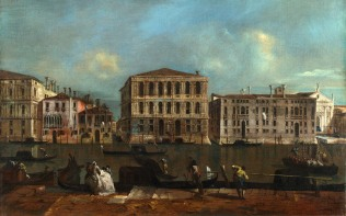 Full title: Venice: The Grand Canal with Palazzo Pesaro Artist: Francesco Guardi Date made: about 1755-60 Source: http://www.nationalgalleryimages.co.uk/ Contact: picture.library@nationalgallery.co.uk Copyright (C) The National Gallery, London