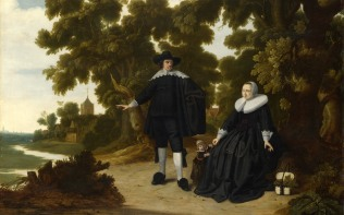Full title: Portrait of Jan van Hensbeeck, his Wife and a Child Artist: G. Donck Date made: probably 1630s Source: http://www.nationalgalleryimages.co.uk/ Contact: picture.library@nationalgallery.co.uk Copyright (C) The National Gallery, London