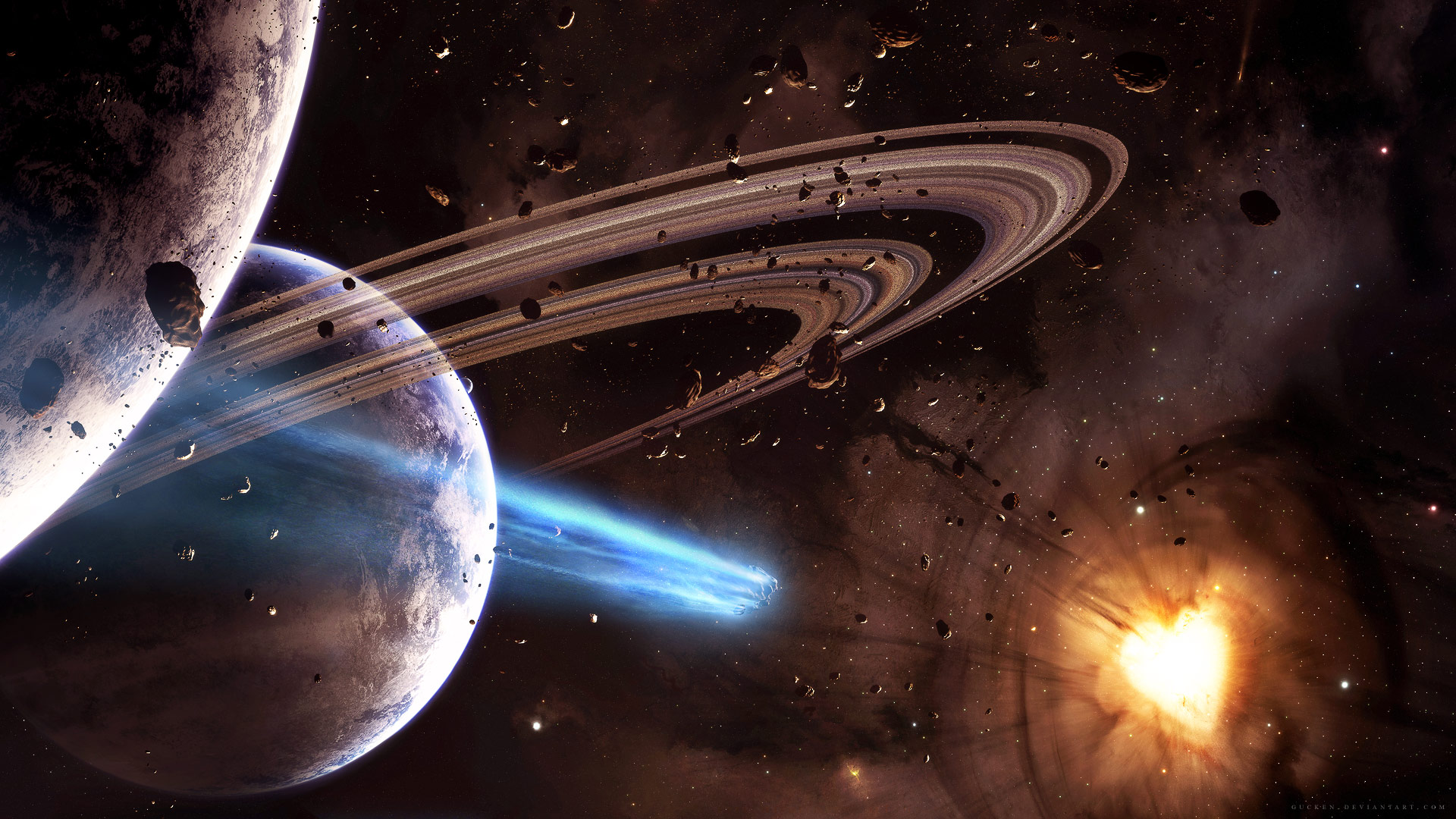 Space Fantasy Awesome Wallpapers