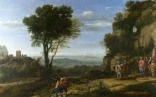 Full title: Landscape with David at the Cave of Adullam Artist: Claude Date made: 1658 Source: http://www.nationalgalleryimages.co.uk/ Contact: picture.library@nationalgallery.co.uk Copyright (C) The National Gallery, London