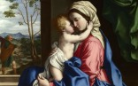 Full title: The Virgin and Child Embracing Artist: Sassoferrato Date made: 1660-85 Source: http://www.nationalgalleryimages.co.uk/ Contact: picture.library@nationalgallery.co.uk Copyright (C) The National Gallery, London