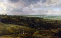 Full title: An Extensive River Landscape Artist: Cornelis van der Schalcke Date made: about 1659 Source: http://www.nationalgalleryimages.co.uk/ Contact: picture.library@nationalgallery.co.uk Copyright (C) The National Gallery, London