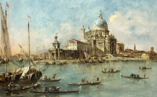 Full title: Venice: The Punta della Dogana Artist: Francesco Guardi Date made: about 1770 Source: http://www.nationalgalleryimages.co.uk/ Contact: picture.library@nationalgallery.co.uk Copyright (C) The National Gallery, London