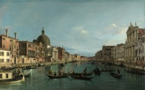 Full title: Venice: The Grand Canal with S. Simeone Piccolo Artist: Canaletto Date made: about 1740 Source: http://www.nationalgalleryimages.co.uk/ Contact: picture.library@nationalgallery.co.uk Copyright (C) The National Gallery, London