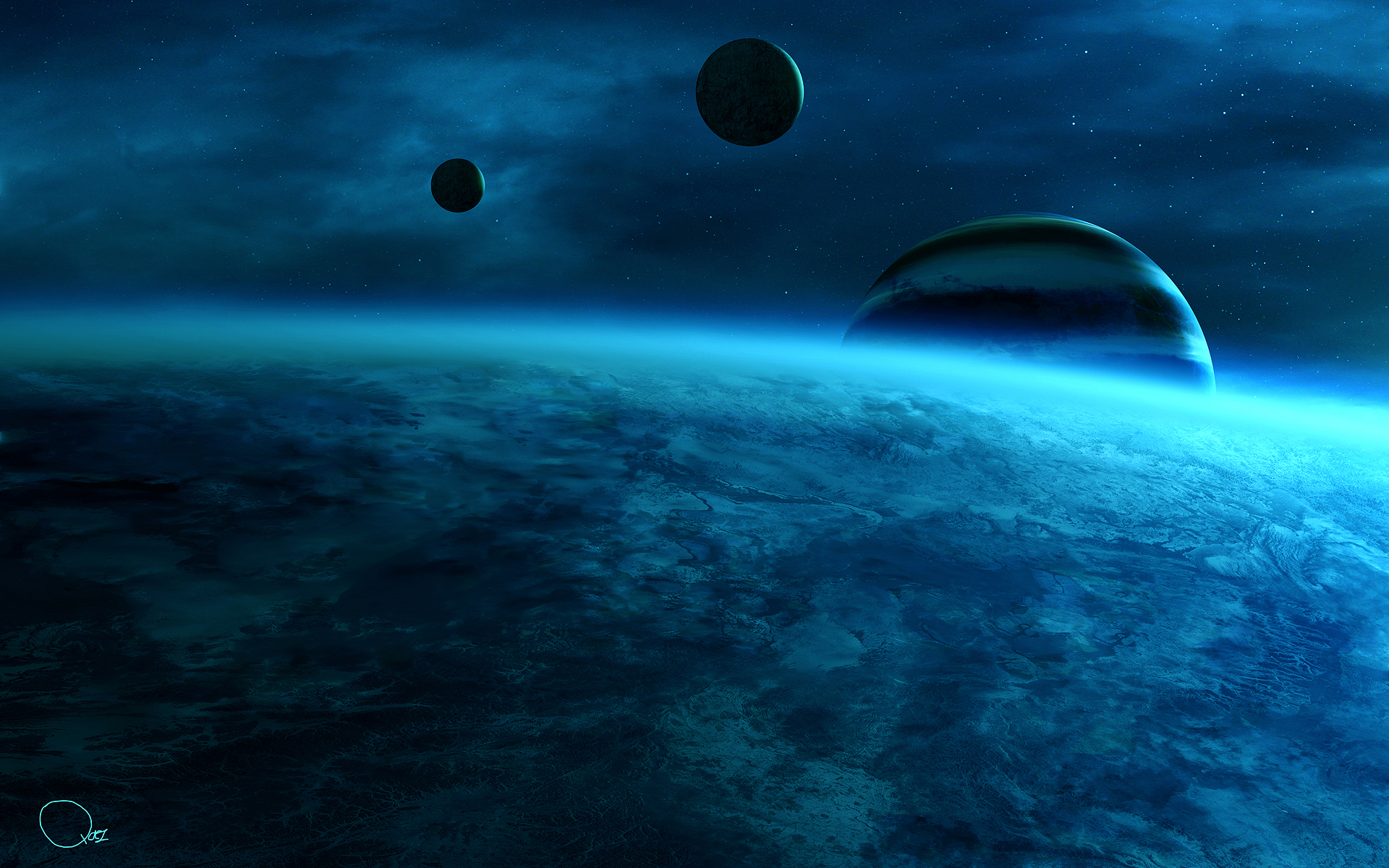 Space Fantasy Wallpaper Set 99 Awesome Wallpapers