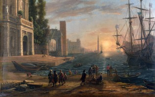 Full title: A Seaport Artist: Claude Date made: 1644 Source: http://www.nationalgalleryimages.co.uk/ Contact: picture.library@nationalgallery.co.uk Copyright (C) The National Gallery, London